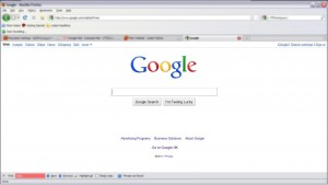 Google Home Page redesign March 2010