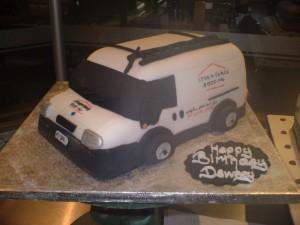 White Van Cake