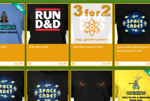 Special Offer on Tshirts on SomethingGeeky.com